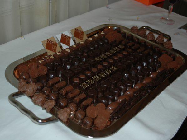 chocomiro chocolate platter